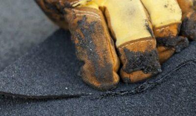 Aanbrengen bitumen dakbedekking